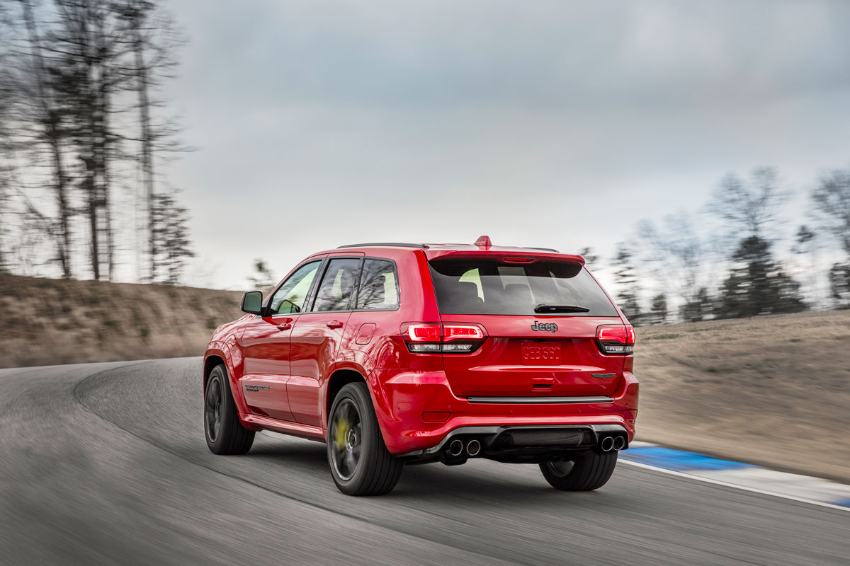 Star News - Jeep Grand Cherokee Trackhawk